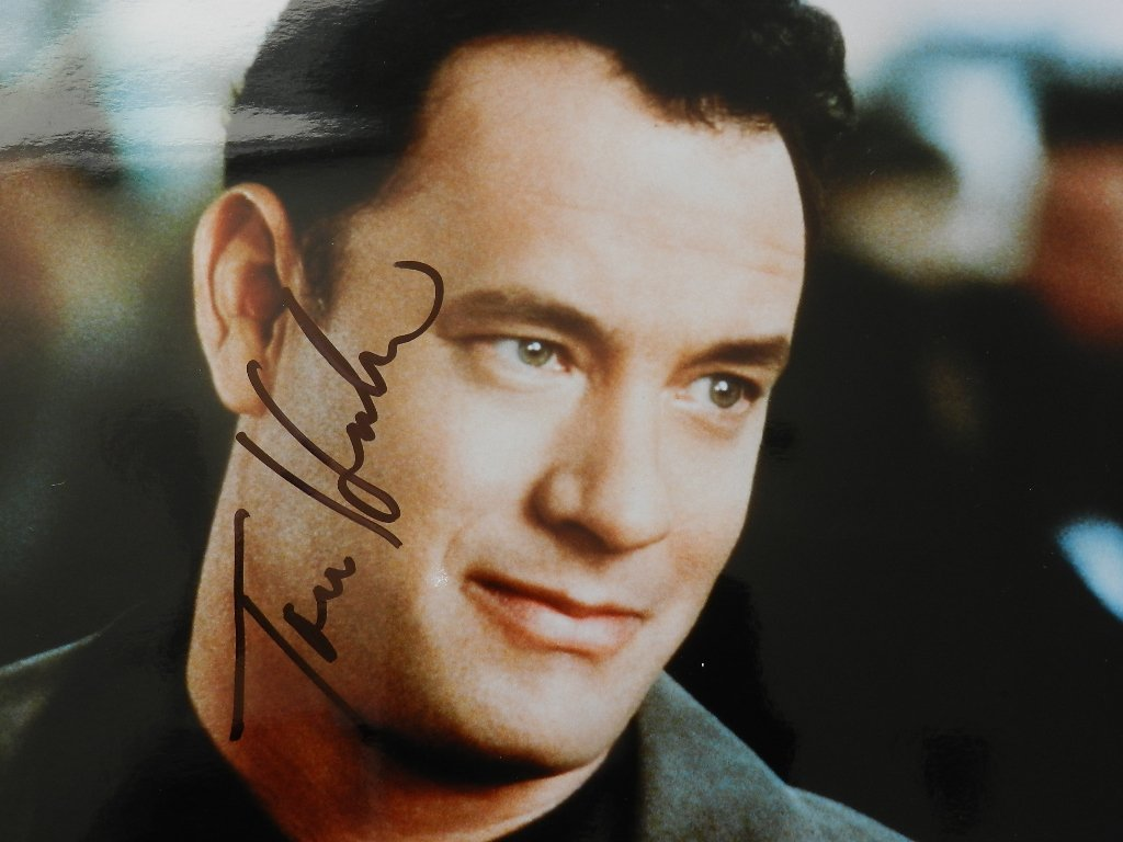 14: Tom Hanks Signed Photograph