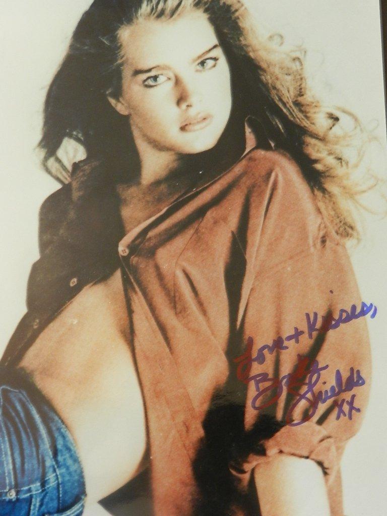 2: Brooke Shields Signed Photograph