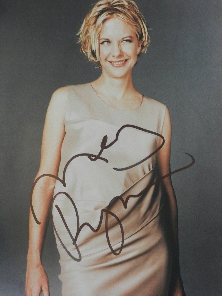 3: Meg Ryan Signed Photograph