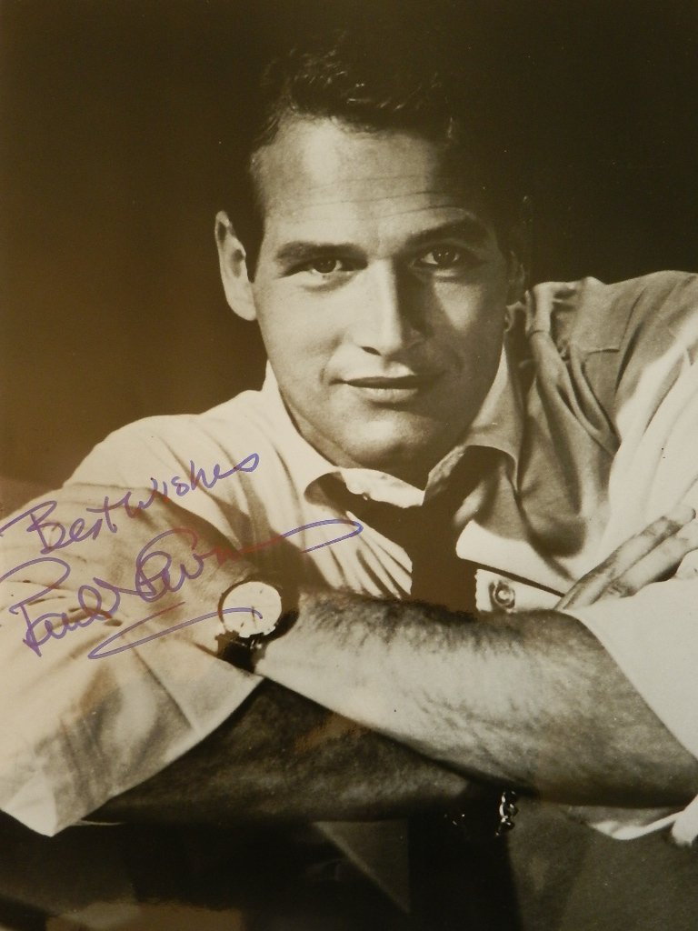 12: Paul Newman Signed Photograph