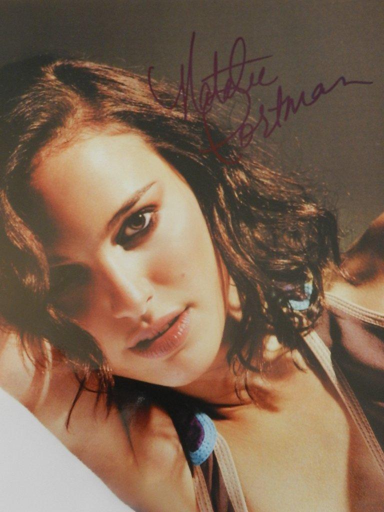 14: Natalie Portman Signed Photograph