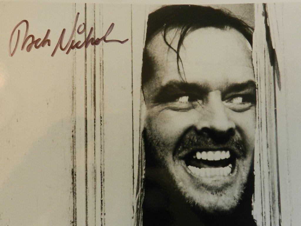 10: Jack Nicholson Signed Photograph