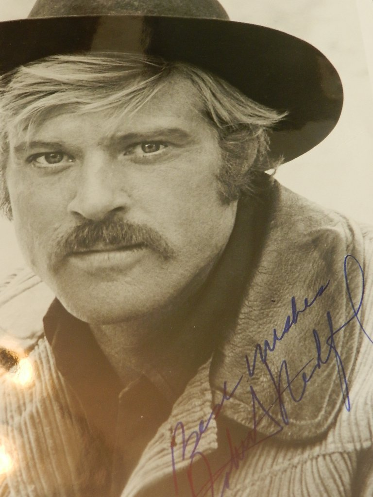 16: Robert Redford Signed Photograph