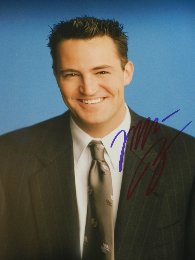 22: Matthew Perry Signed Photograph