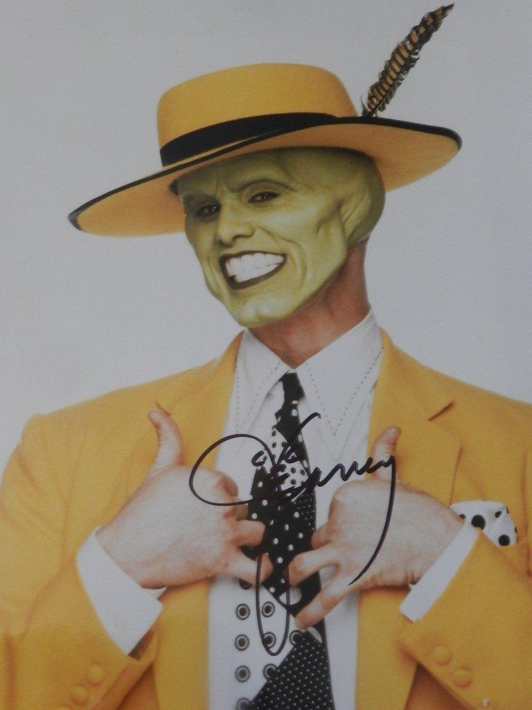 23: Jim Carrey Signed Photograph