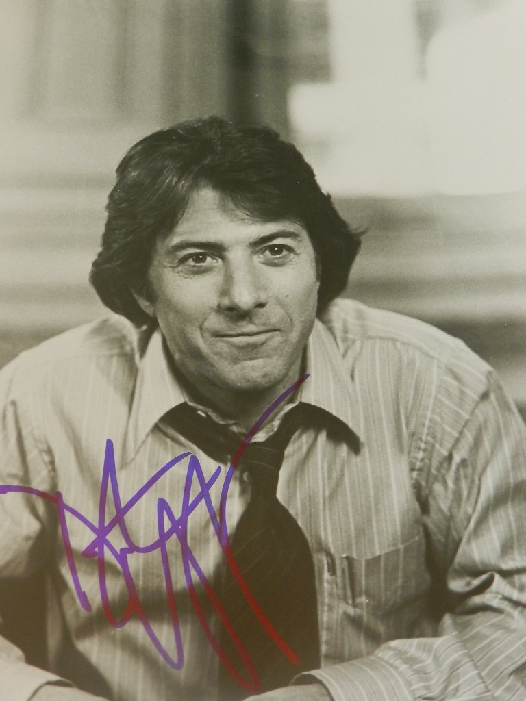 7: Dustin Hoffman Signed Photograph