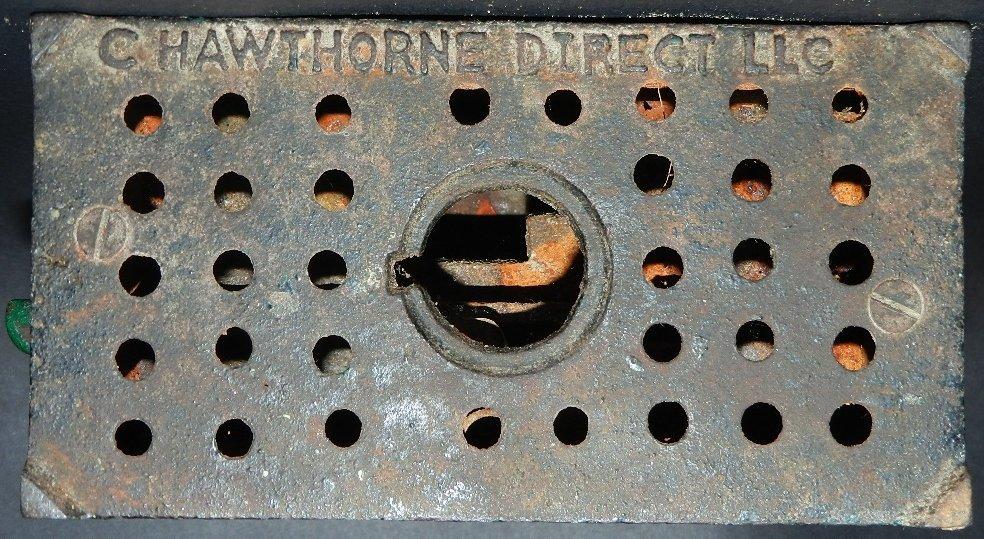 77: Early Cast Iron Hot Dog Mechanical Bank - 4