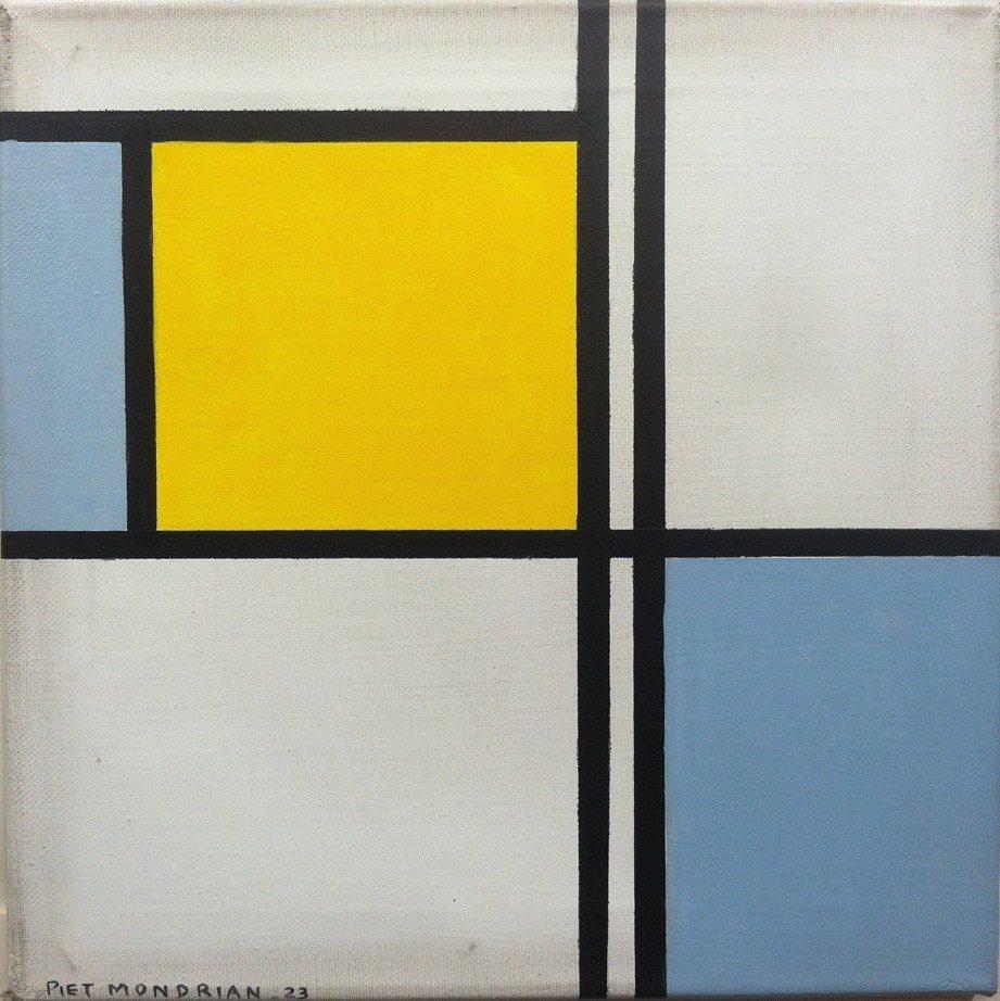 14: Attrib. Piet Mondrian (1872-1944), Oil on Canvas