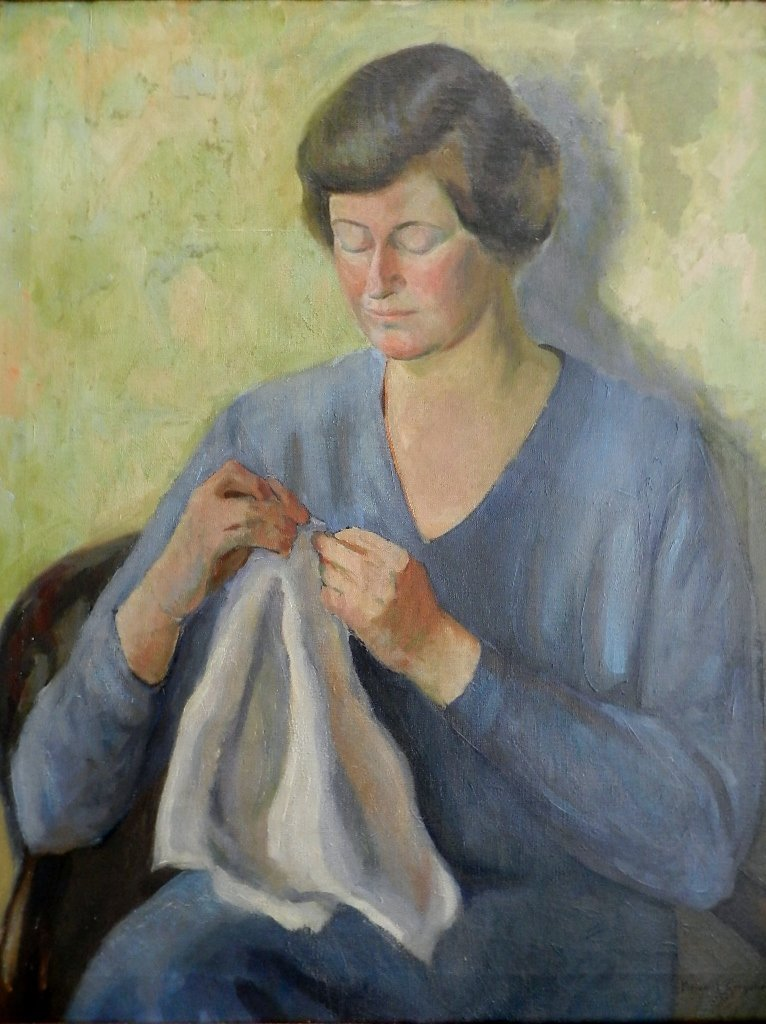 19: Margaret Chrystie (American 1895) Oil on Canvas