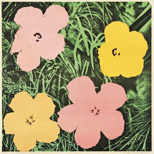 157: Andy Warhol (American, 1928-1987) Flowers, 1964