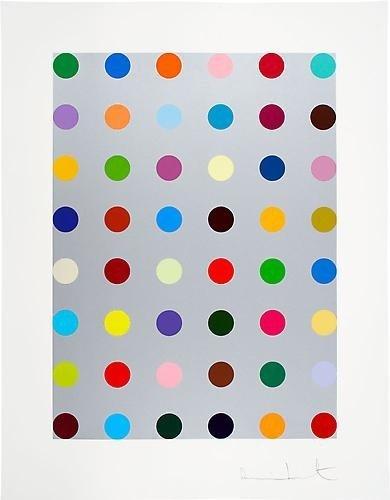 205: Damien Hirst Lepidine 2008 Silkscreen