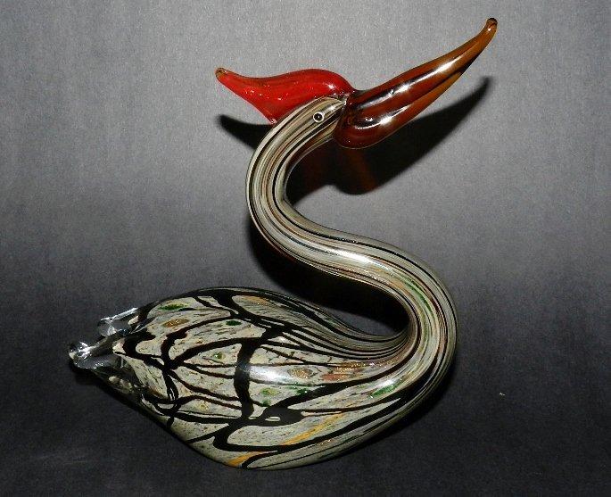 6: Murano Glass Swan