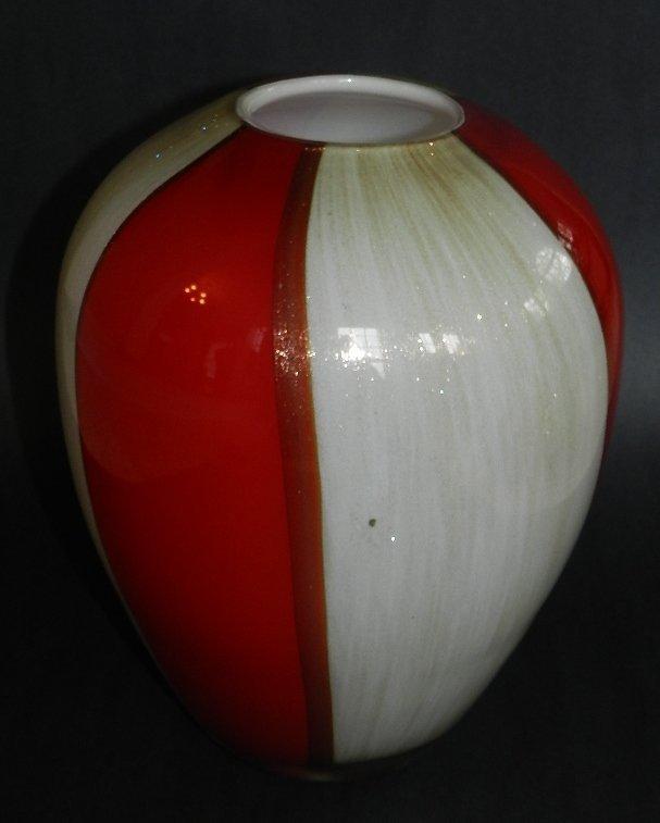 9: Murano Glass Vase