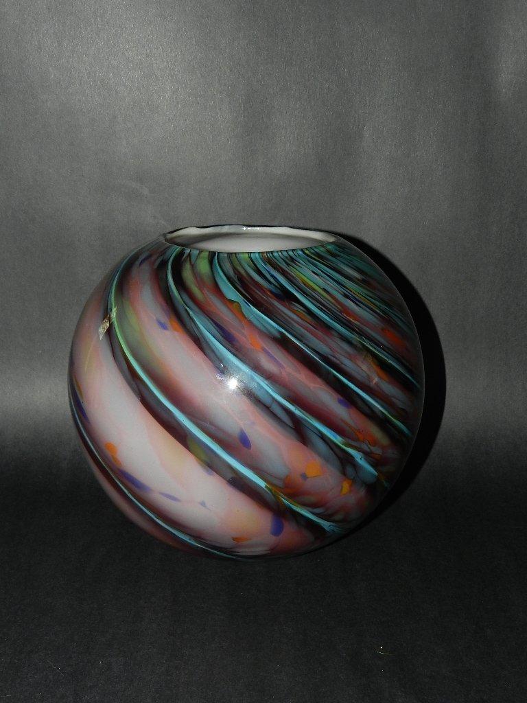 12: Murano Glass Vase