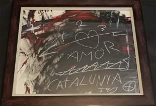 62: Antoni Tapies (Spanish 1923-2012)