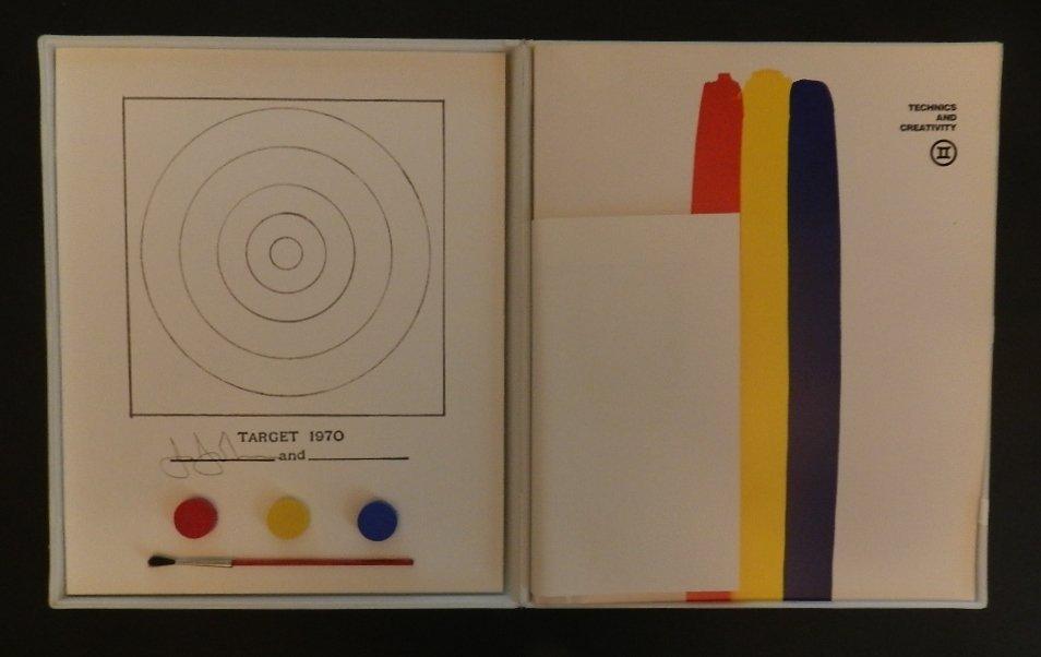 19: Jasper Johns (b.1930) technics and creativity ii