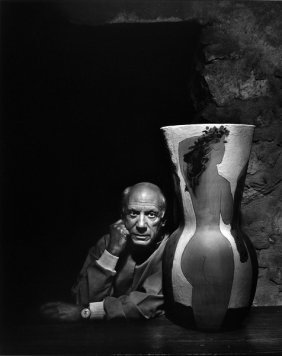 5: Original Pablo Picasso Photogravure by Yousuf Karsh