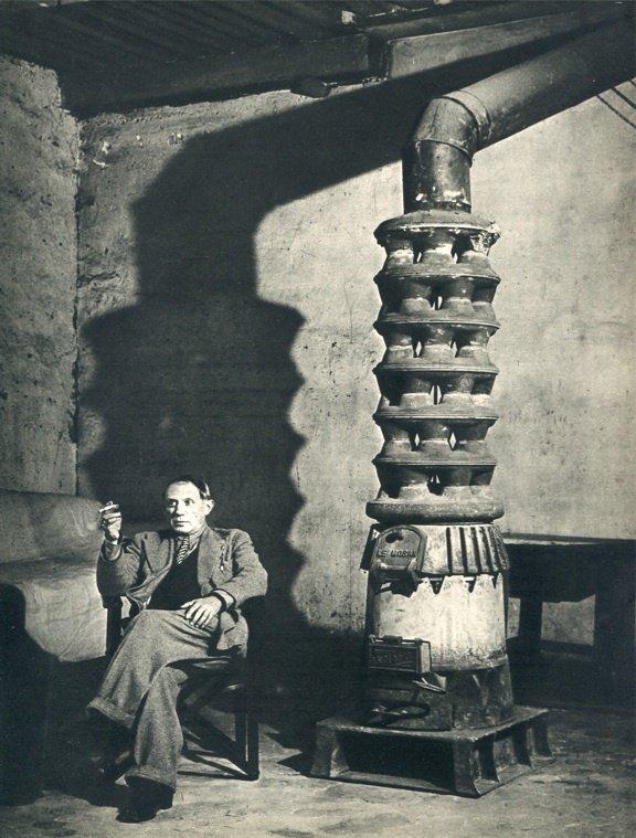 "8: Brassai, ""Picasso"" vintage 1930s photo gravure"