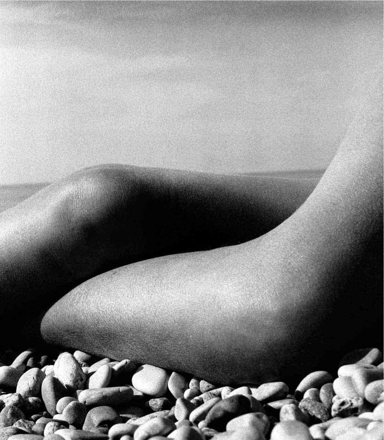 9: Bill Brandt - Abstract Nude photo gravure plate 1958