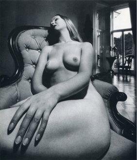 17: Bill Brandt - Distorted Nude photo gravure  1961