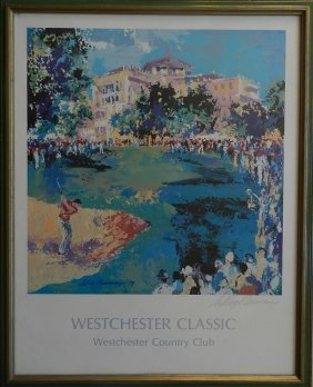 """20: Hand Signed Leroy Neiman """"West Chester Classic"""""""