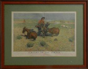 22: Frederic Remington Lithograph