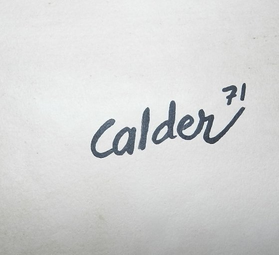 106: ALEXANDER CALDER (1898-1976) Acrylic on Paper - 2
