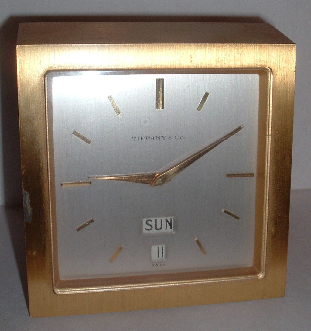 1: Tiffany & Co Clock Circa 1950's