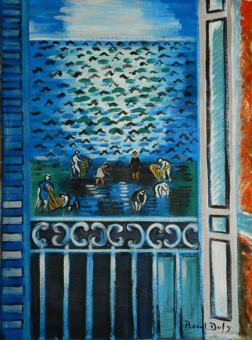 15: Oil on Canvas Signed Raoul Dufy