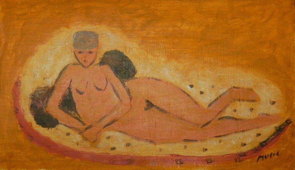 10: Zoran Antonio Music (1909-2005) Oil on Board