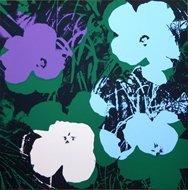 Andy Warhol Flowers 1 Serigraph Sunday B. Morning