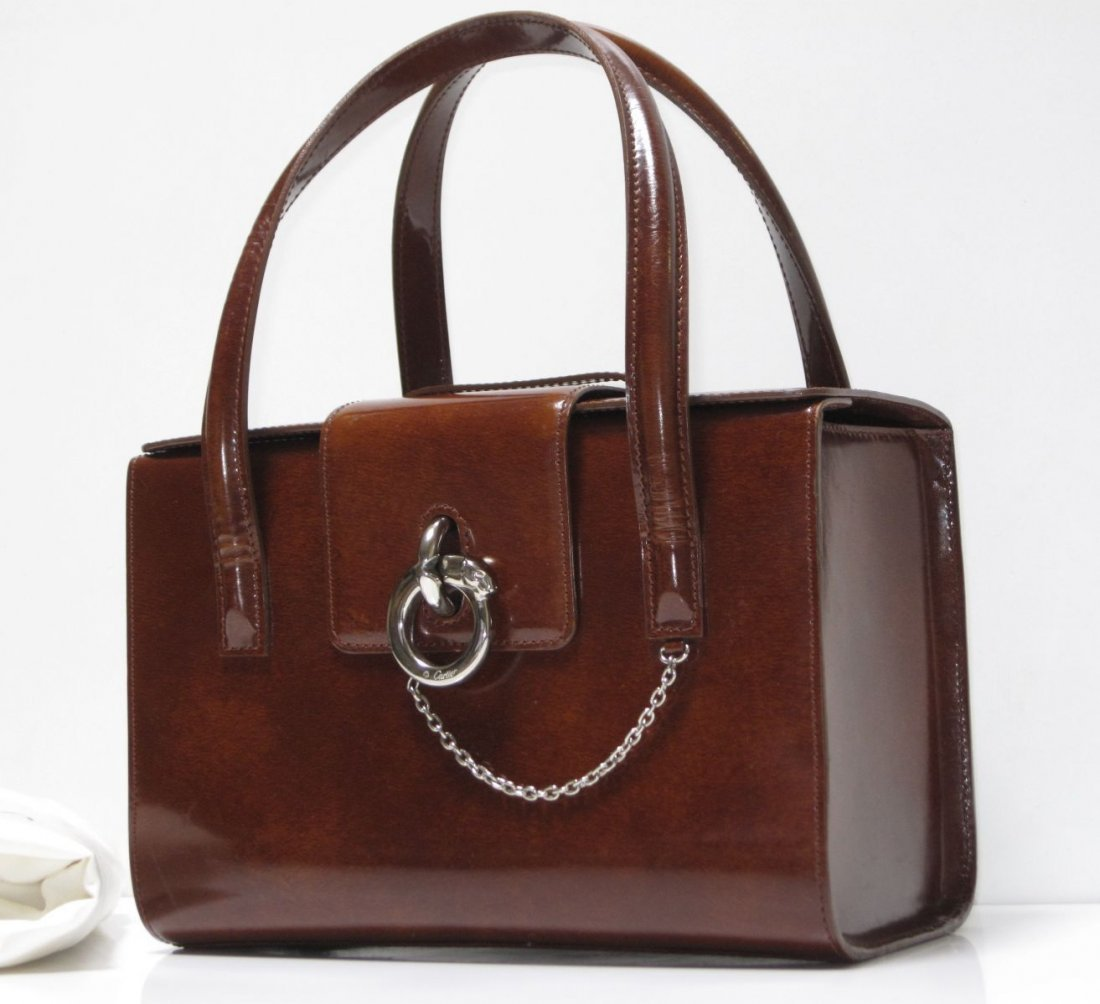 CARTIER   PANTHERE PATENT LEATHER