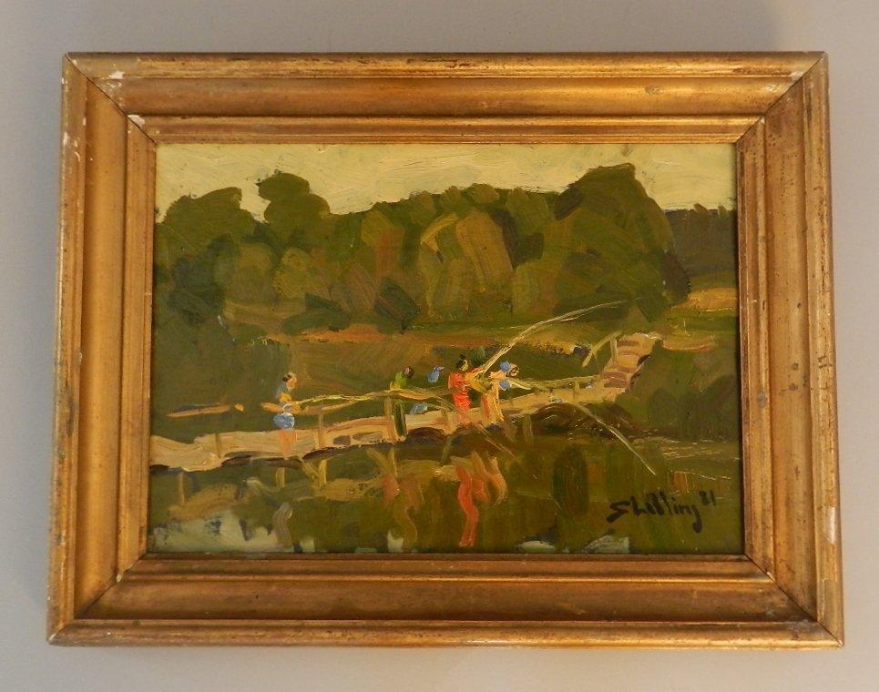 Arthur Shilling (1941 - 1986) Oil on Board