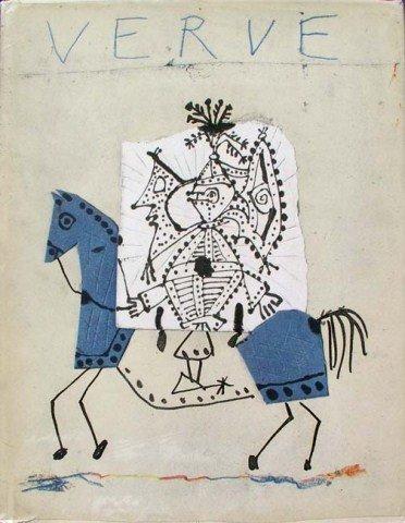 """Verve Picasso"" Book 1951 Lithograph"