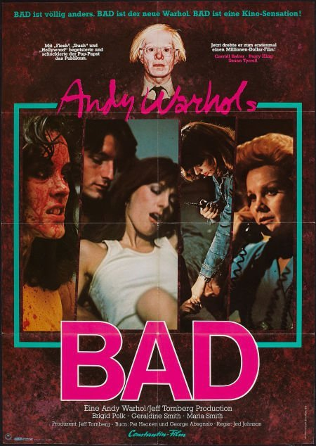 Andy Warhol's Bad German A1 Movie Poster Litho 1977