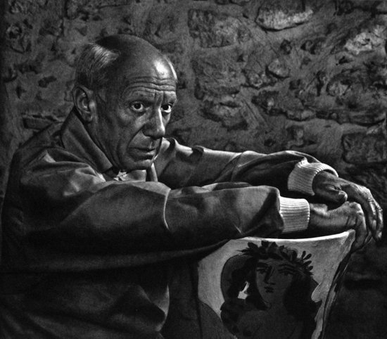 Original Pablo Picasso Photogravure by Yousuf Karsh
