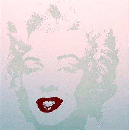 Andy Warhol Marilyn Serigraph Golden 1