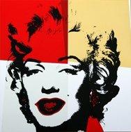Andy Warhol Marilyn Serigraph Golden 4