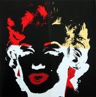 Andy Warhol Marilyn Serigraph Golden 5