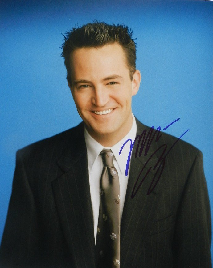 Matthew Perry Signed Photograph