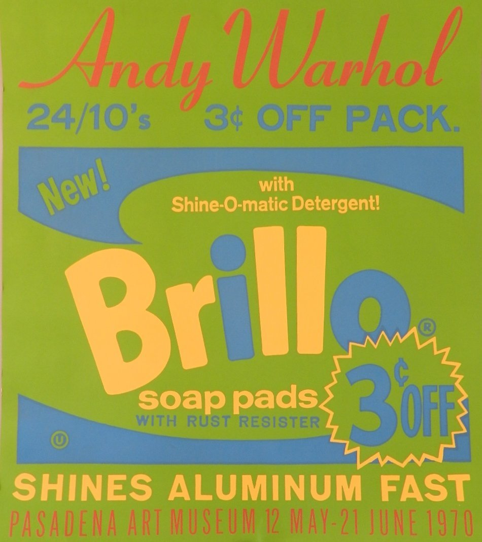 Andy Warhol (1928-1987) Brillo Soap Pads