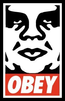 "Shepard Fairey ""Obey"" Litho Hand Signed"
