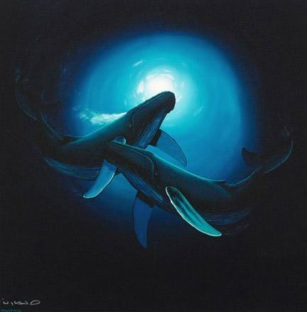 "Wyland ""Sea Dance"" Giclee on Canvas Signed"