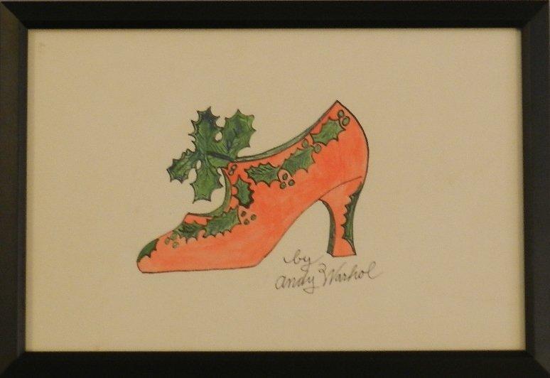Andy Warhol (American, 1928-1987) Watercolor