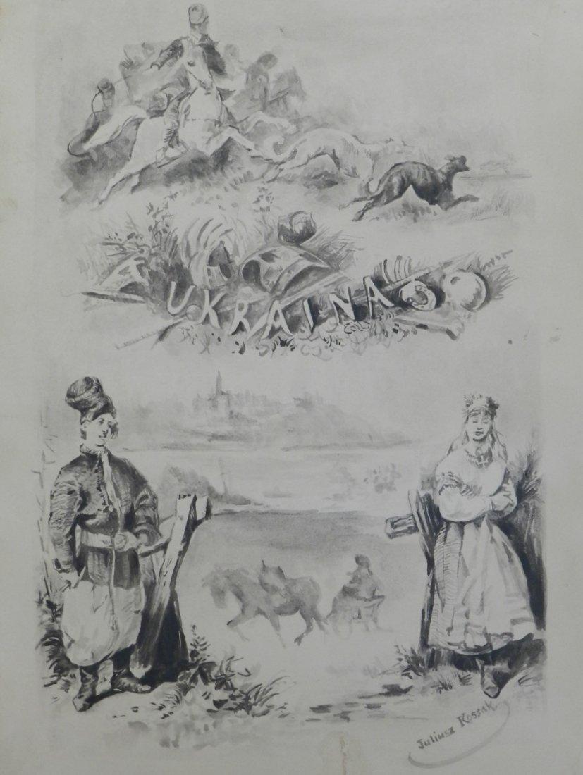 Juliusz Kossak (Polish, 1824-1899) Graphite on Paper