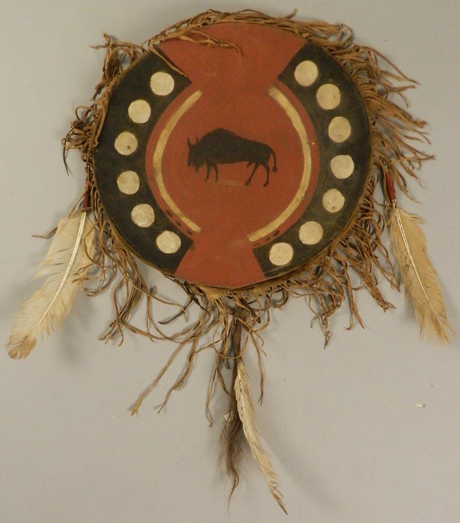 Sioux Buffalo Medicine Shield