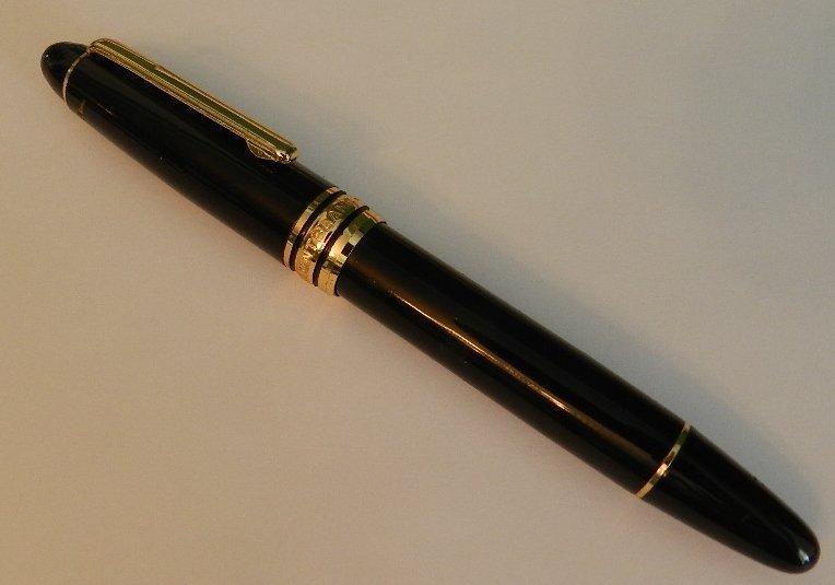 Black Meisterstuck Fountain Pen
