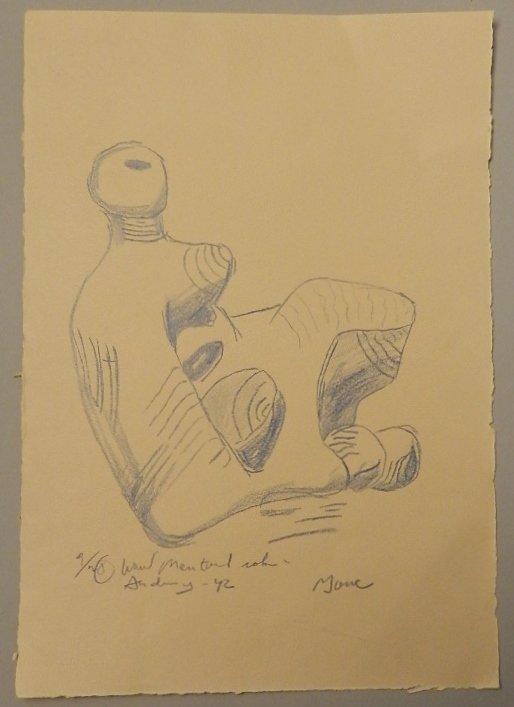 Henry Moore (British, 1898-1986)