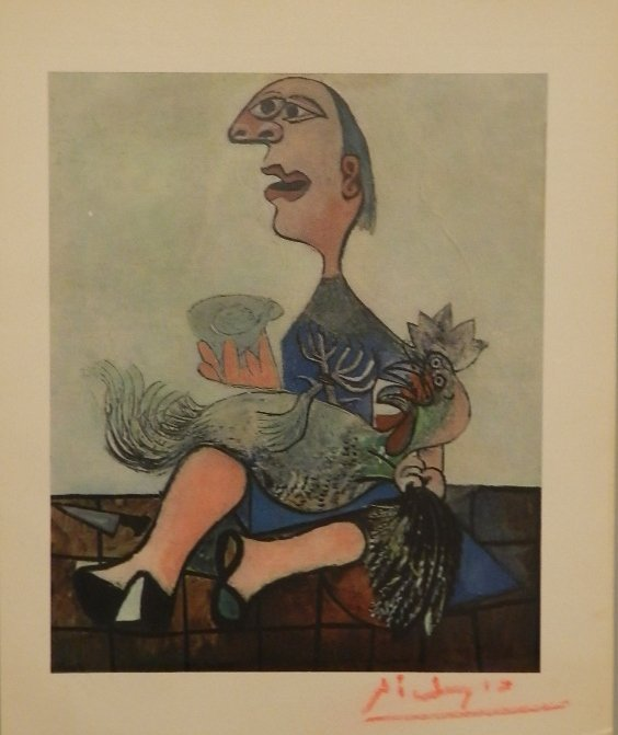 Pablo Picasso (1881-1973) Hand Signed Lithograph