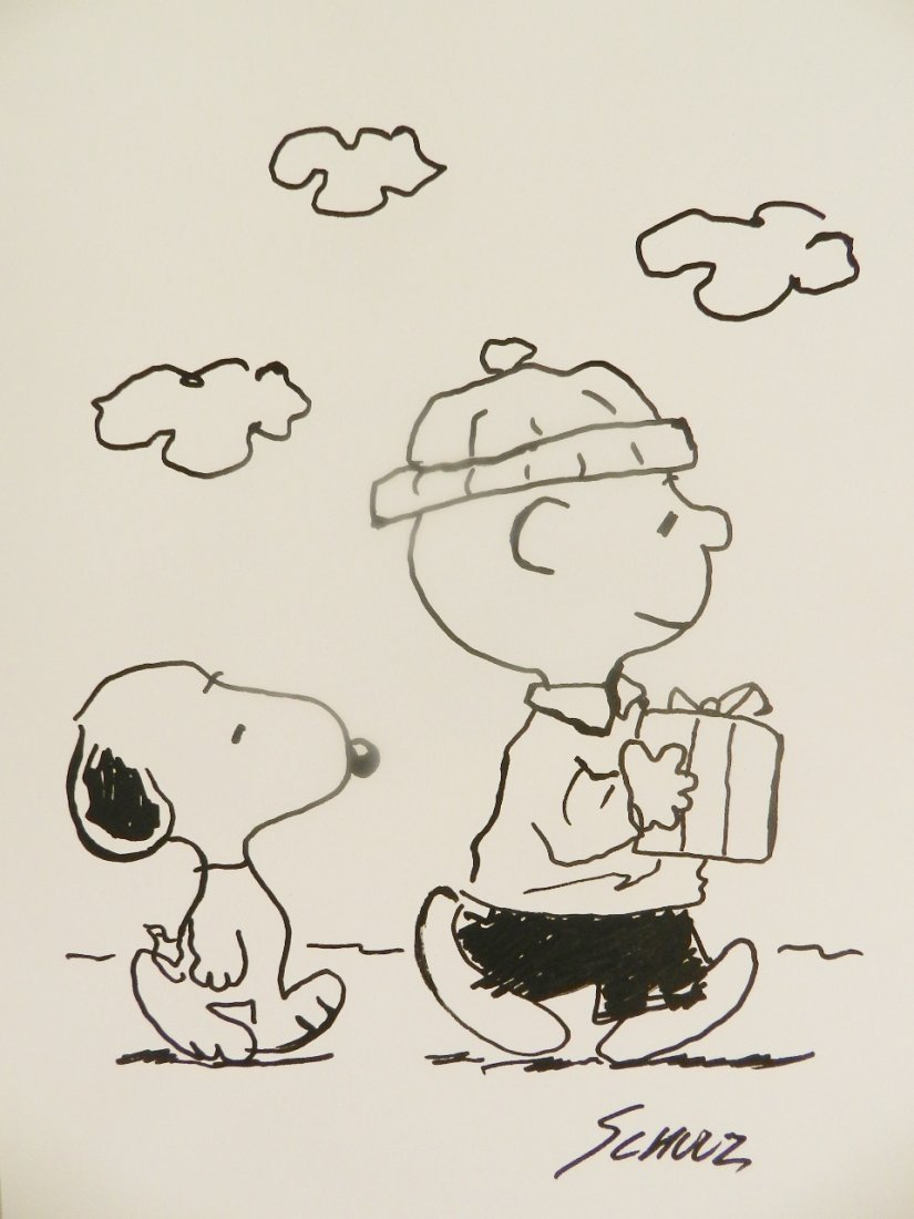 Charles M. Schulz (american, 1922-2000)